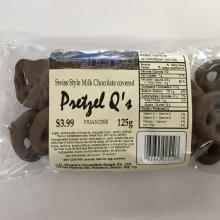 Milk Chocolate Pretzel Q's