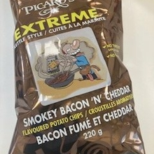 Smokey Bacon and Cheddar Extreme Style Kettle Chips