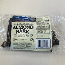 Dark Chocolate 72% Almond Bark