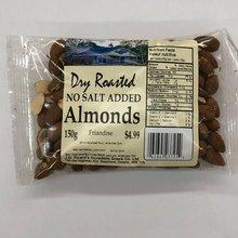Dry Roasted No Salt Almonds